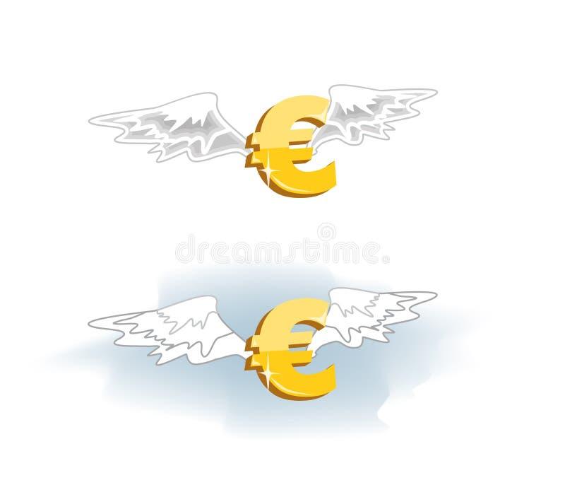 euroflyg vektor illustrationer