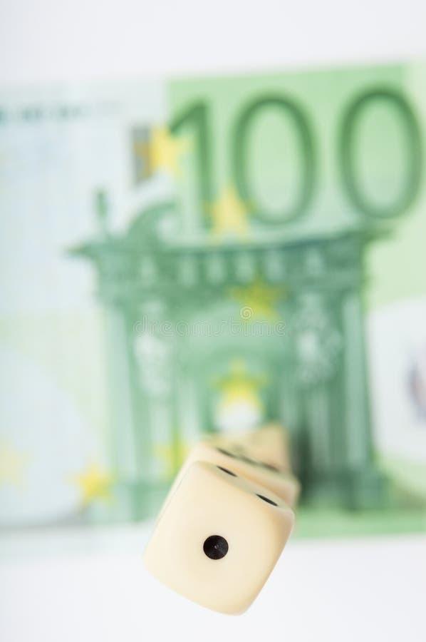 Euroglücksspiel lizenzfreie stockfotografie