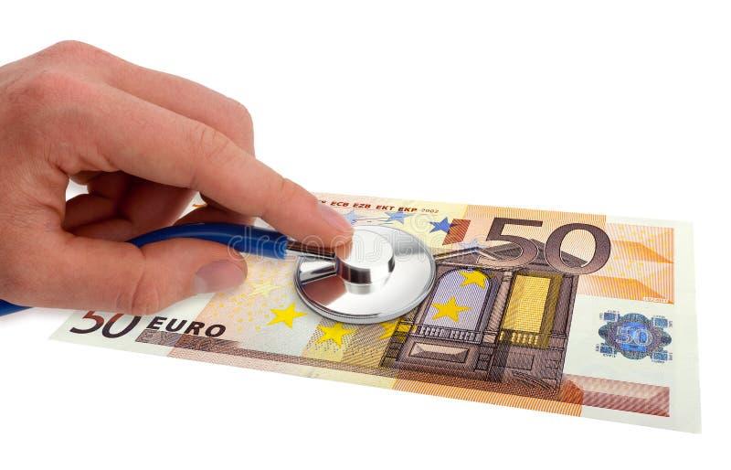 eurohälsa royaltyfri bild