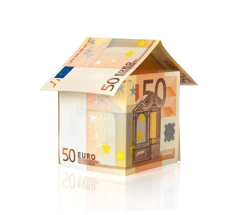 Eurohaus stockfoto