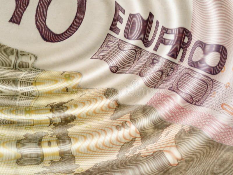 Eurokräuselungen lizenzfreie abbildung