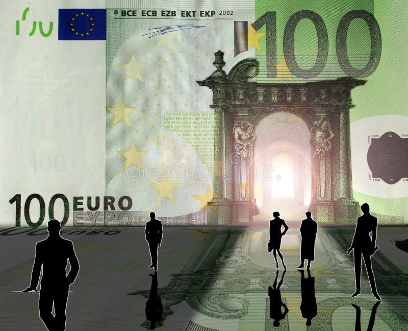 eurokungarike vektor illustrationer