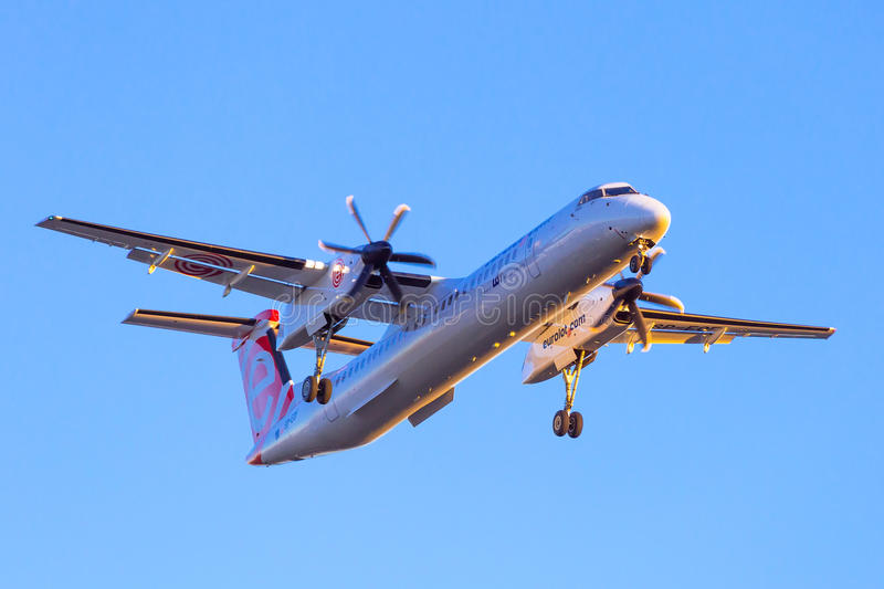 Download Eurolot Aircraft Landing On The Airport Editorial Stock Image - Image: 38817414