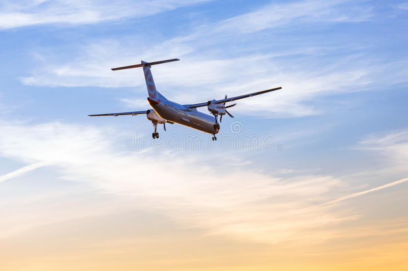 Download Eurolot Aircraft Landing On The Airport Editorial Stock Photo - Image of airplane, flight: 38817478