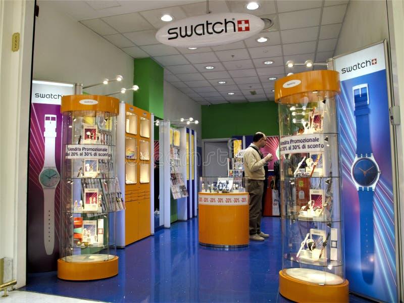 Euroma 2 centrum handlowe w Rzym fotografia stock