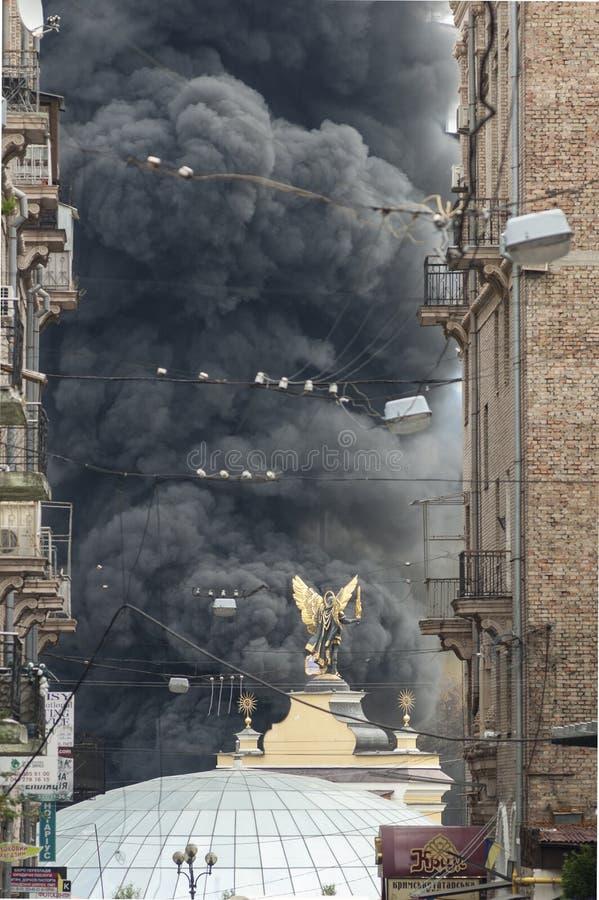 Euromaidan στο Κίεβο στοκ εικόνες