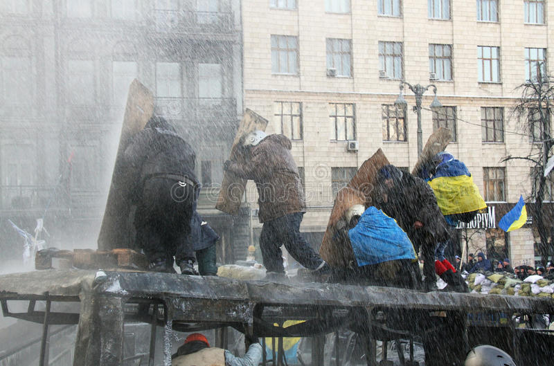 Download Euromaidan editorial photography. Image of cannon, protesters - 37741127