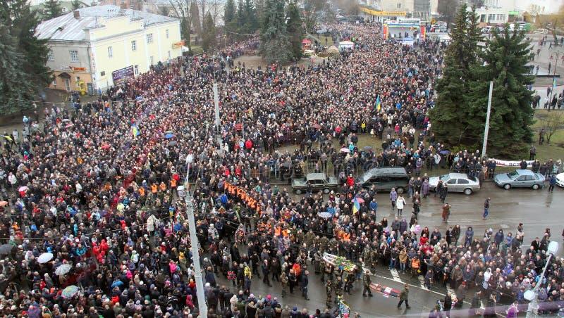 Euromaidan στοκ φωτογραφίες με δικαίωμα ελεύθερης χρήσης
