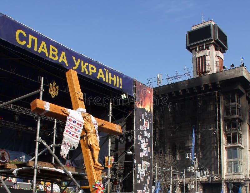 Euromaidan στοκ φωτογραφίες