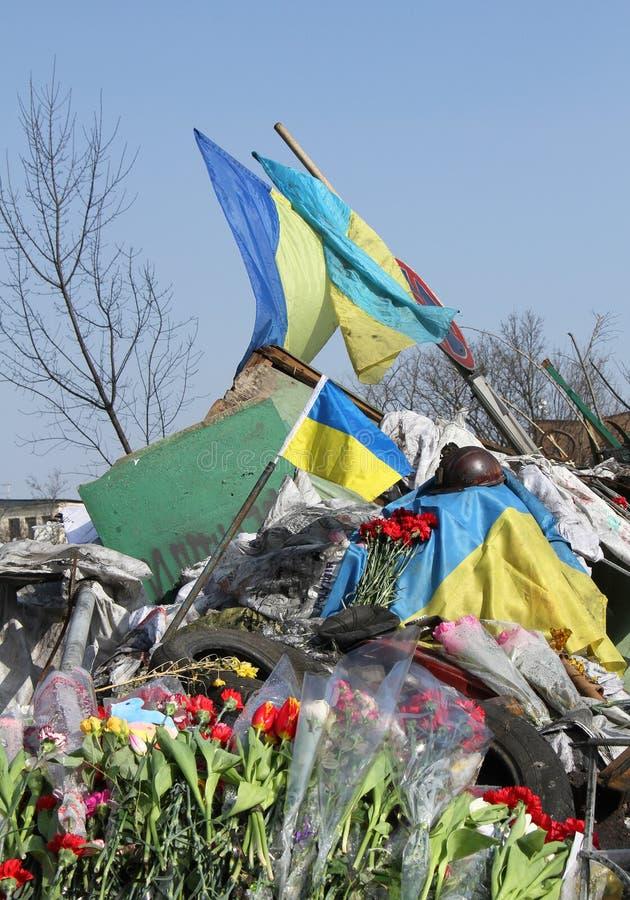 Euromaidan στοκ φωτογραφία με δικαίωμα ελεύθερης χρήσης