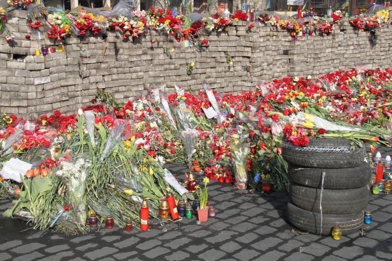 Euromaidan στοκ εικόνες με δικαίωμα ελεύθερης χρήσης