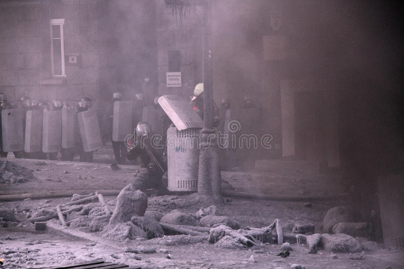 Download Euromaidan editorial stock photo. Image of people, damage - 37740753