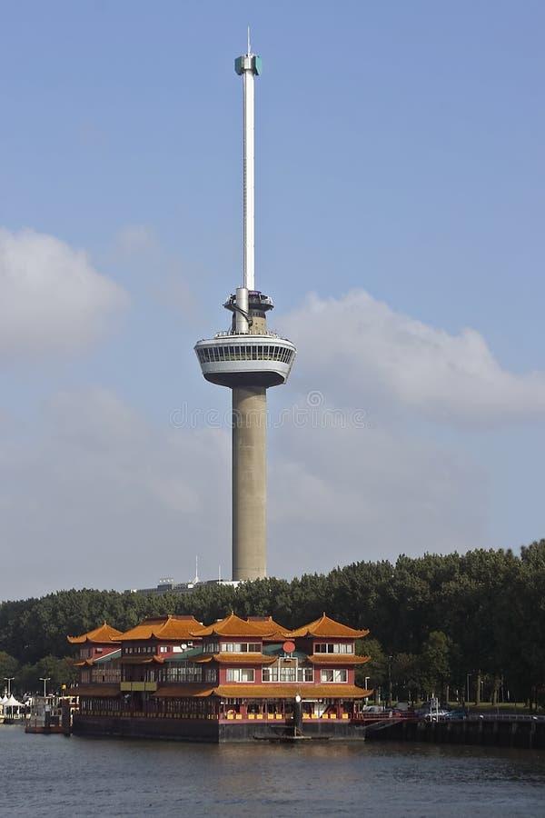 Euromast - Chinesische Gaststätte Redaktionelles Stockbild
