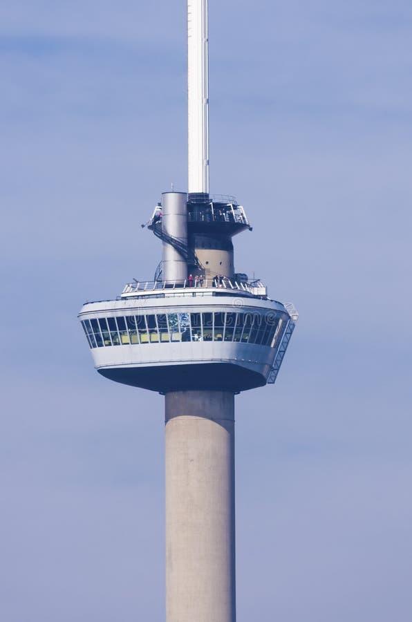 Euromast in Rotterdam royalty-vrije stock afbeeldingen