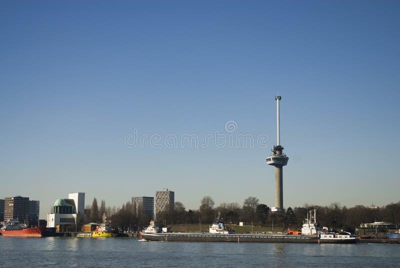 Euromast Rotterdam Editorial Stock Photo