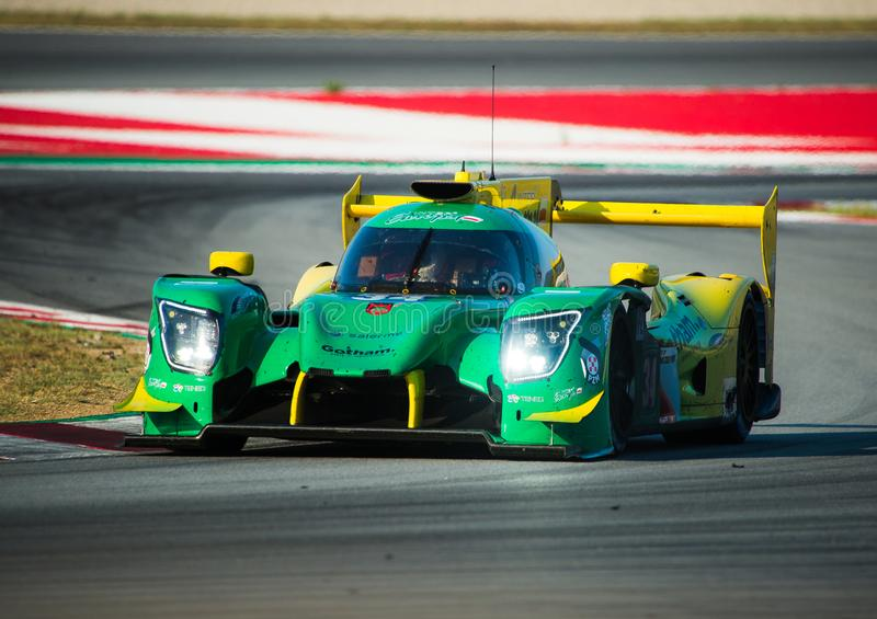 Europäer-Le Mans Reihe - 4Hours von Barcelona lizenzfreies stockbild