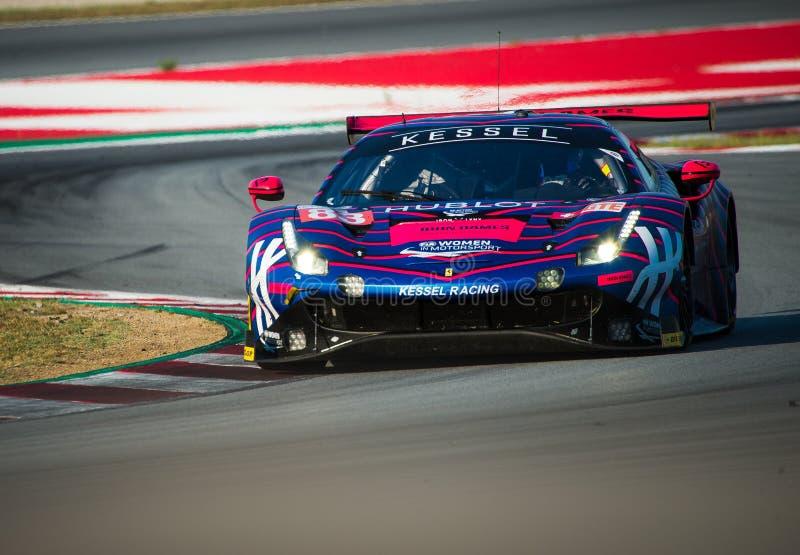 Europäer-Le Mans Reihe - 4Hours von Barcelona stockfotos