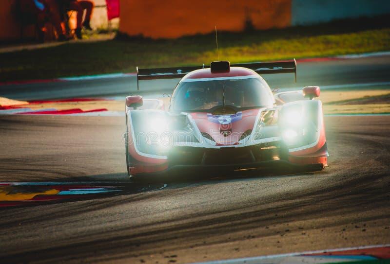 Europäer-Le Mans Reihe - 4Hours von Barcelona lizenzfreie stockfotografie
