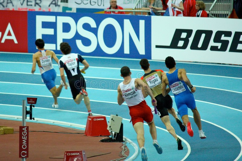 Europäische Athletik-Innenmeisterschaften lizenzfreie stockfotografie