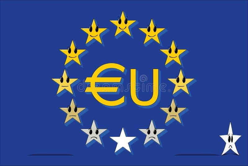 Europäische Hierarchie lizenzfreie abbildung
