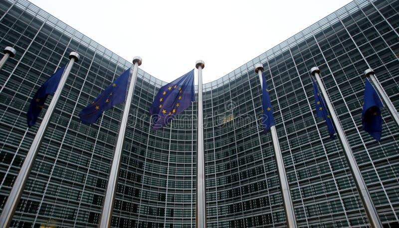 Europäische Kommission in Brüssel stockfoto