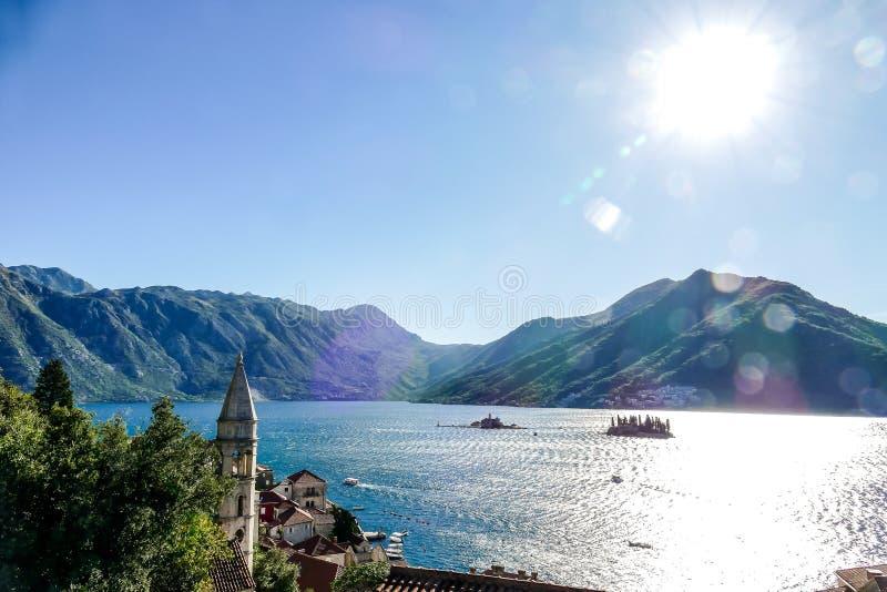 Europäische Landschaftsansicht in Montenegro lizenzfreies stockfoto