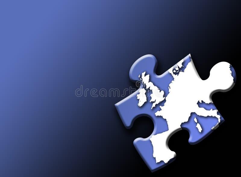 Europäische Märkte stock abbildung