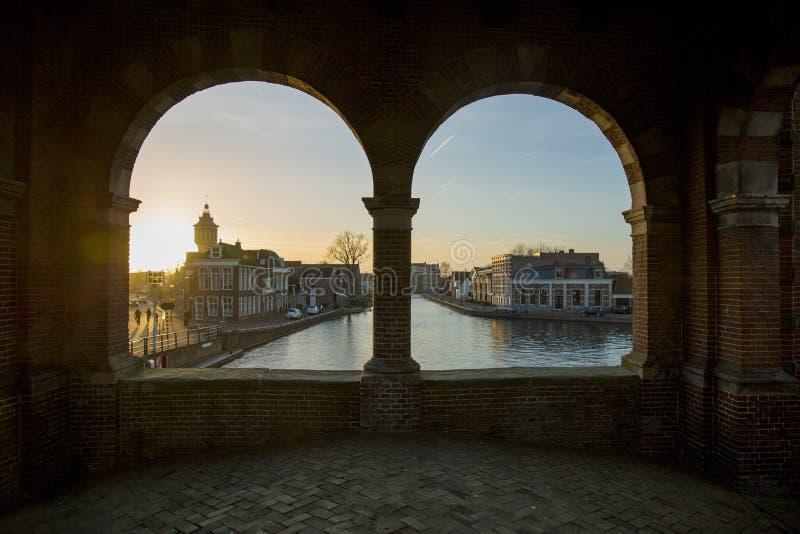 Europäische Stadt stockbilder