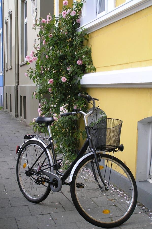 Europäische Stadt-Straße stockbilder