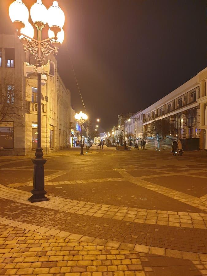 Europäische Straße Simferopol stockbilder