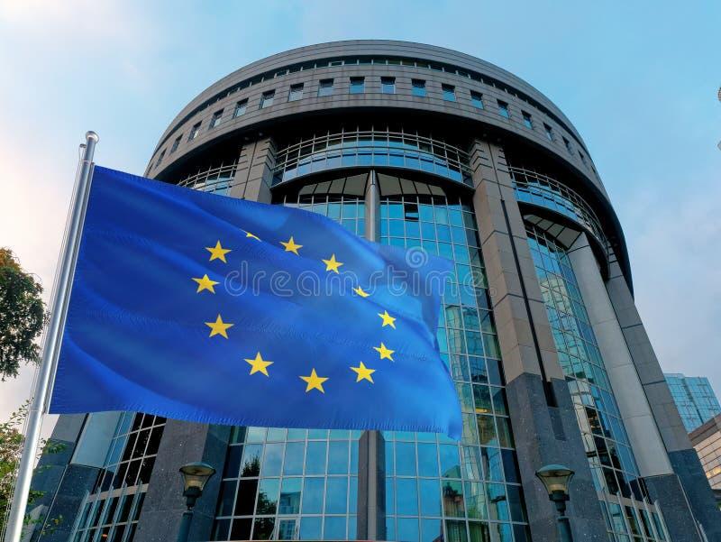 Europäische Union Bruxelles Factory stockbild