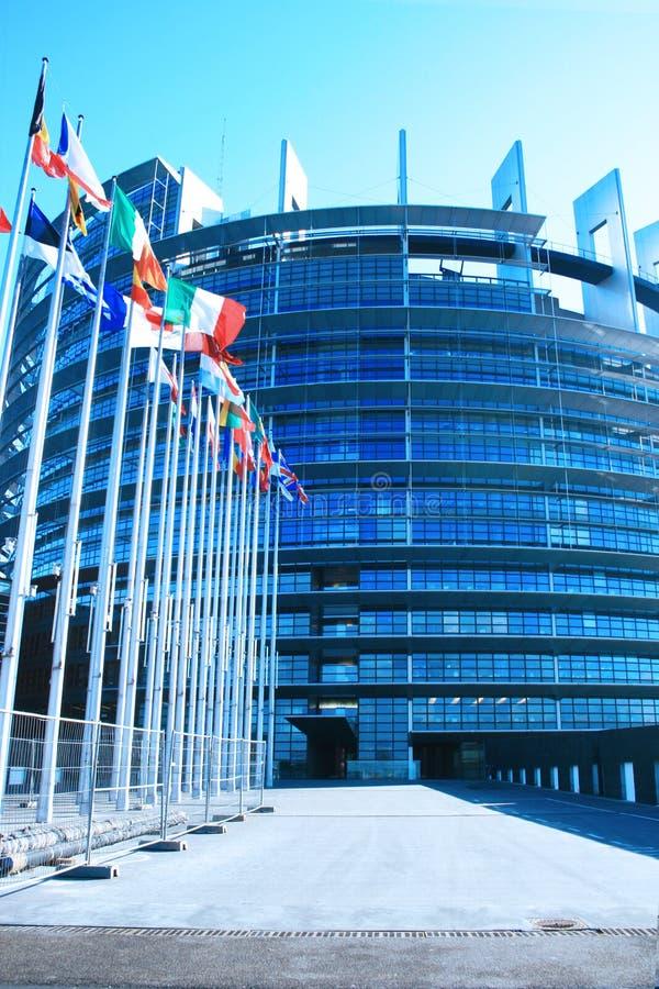 Europäisches Parlament lizenzfreie stockfotografie