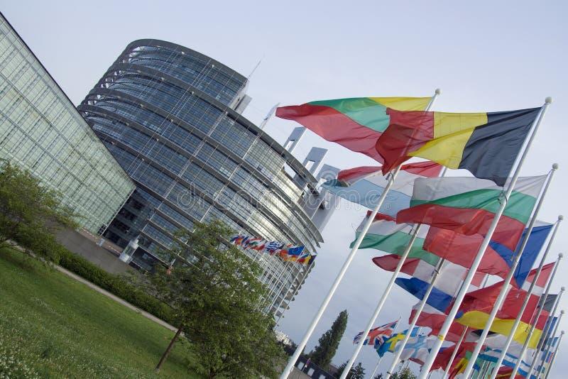 Europäisches Parlament stockfoto