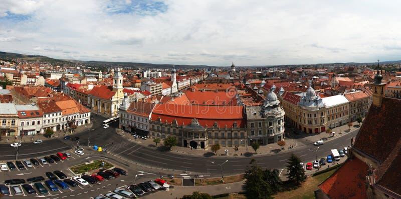 Europäisches Stadt scape stockfoto