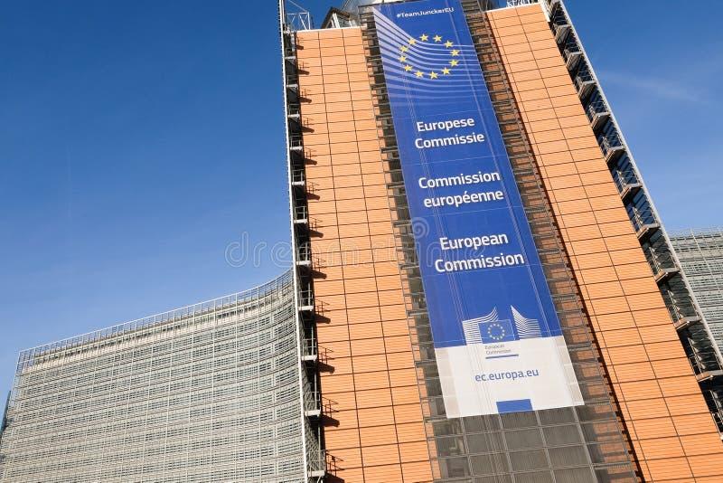Européen de commission image stock
