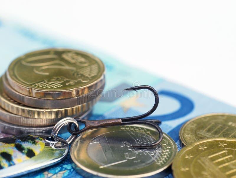 Européen de dette de concept image stock