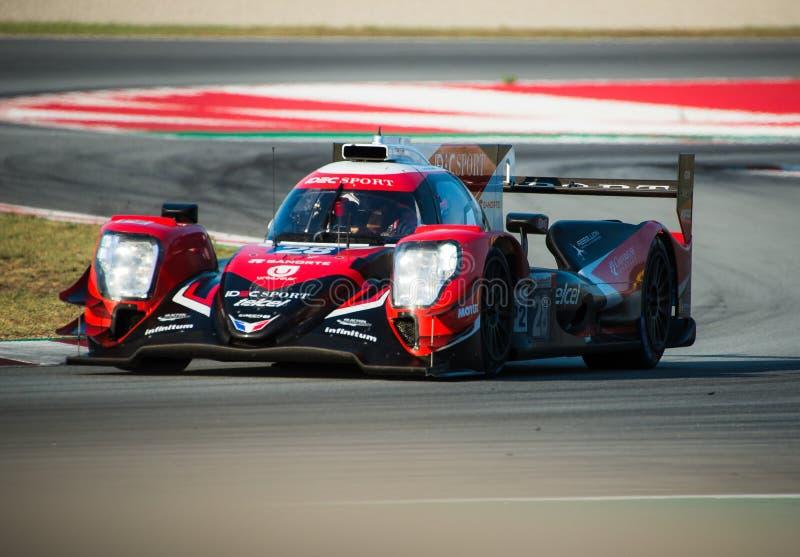 EuropéLe Mans serie - 4Hours av Barcelona royaltyfri bild