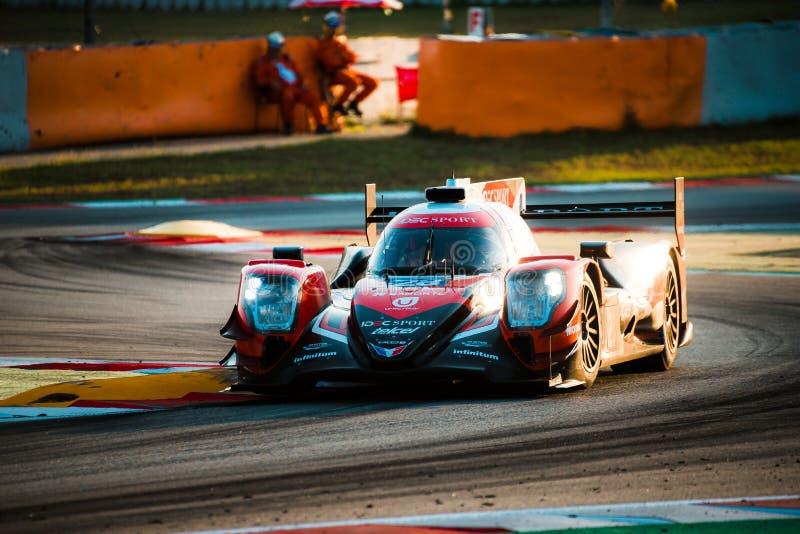 EuropéLe Mans serie - 4Hours av Barcelona fotografering för bildbyråer