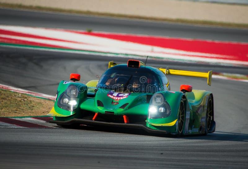 EuropéLe Mans serie - 4Hours av Barcelona arkivfoton