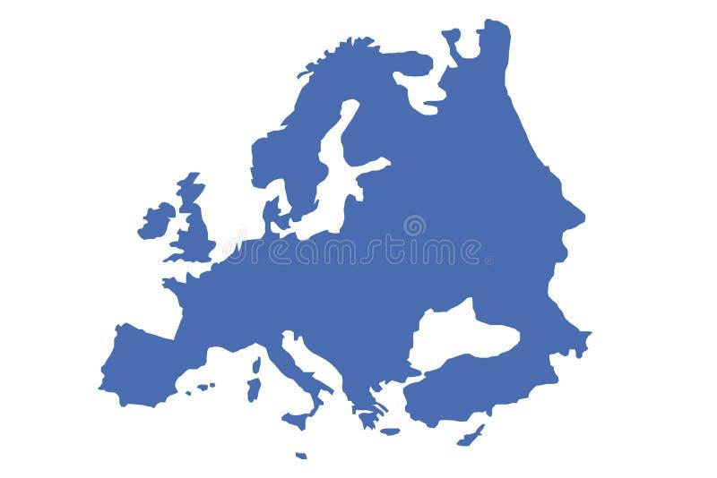 europę royalty ilustracja