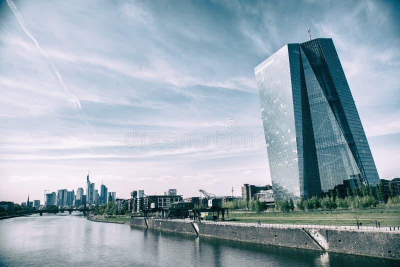 Europ?ische Zentralbank stockbilder