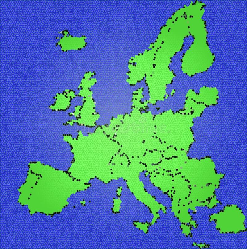Europa illustrazione vettoriale