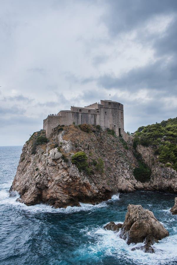 Europa Croatia Dubrovnick stary miasteczko obraz royalty free