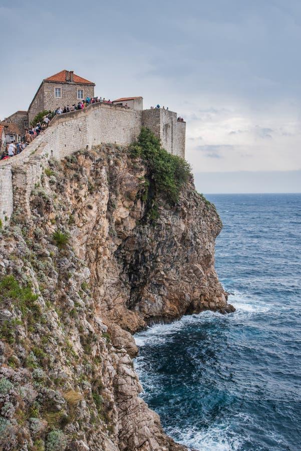 Europa Croatia Dubrovnick stary miasteczko fotografia royalty free