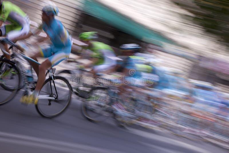 Europa cykliści obraz royalty free