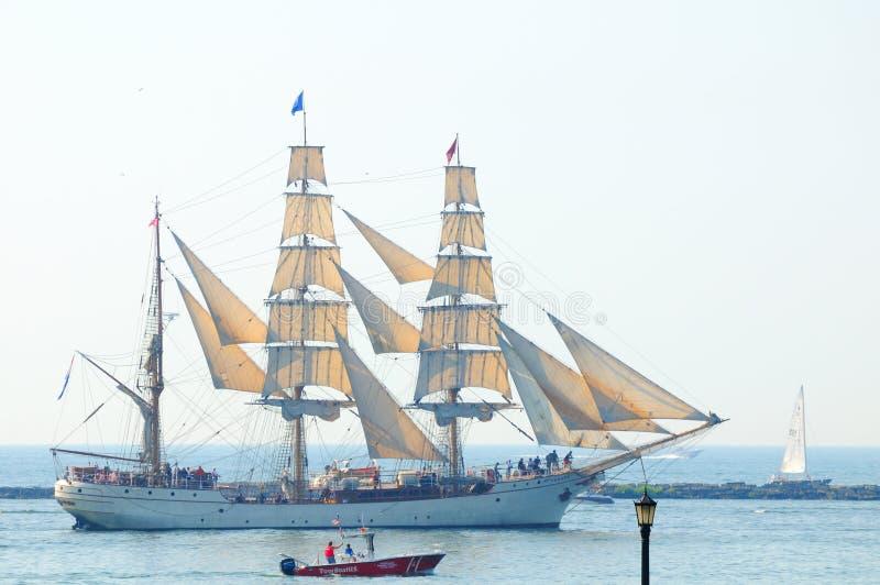 Europa e towboat immagini stock