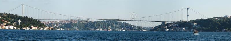 Europa encontra Ásia - Istambul fotografia de stock