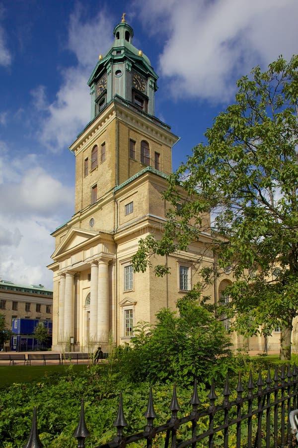 Europa, Escandinavia, Suecia, Goteburgo, catedral, Vastra Hamngatan/Kungsgatan foto de archivo libre de regalías