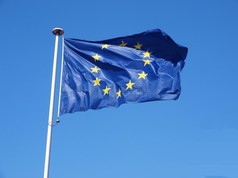 Europa flagga fotografering för bildbyråer