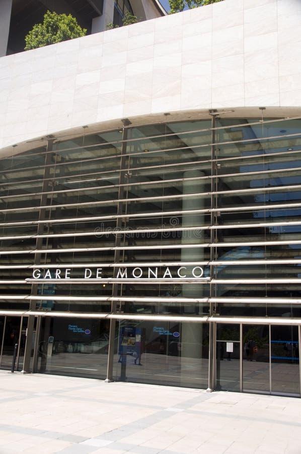 Europa france franskt monaco r stationsdrev arkivfoto